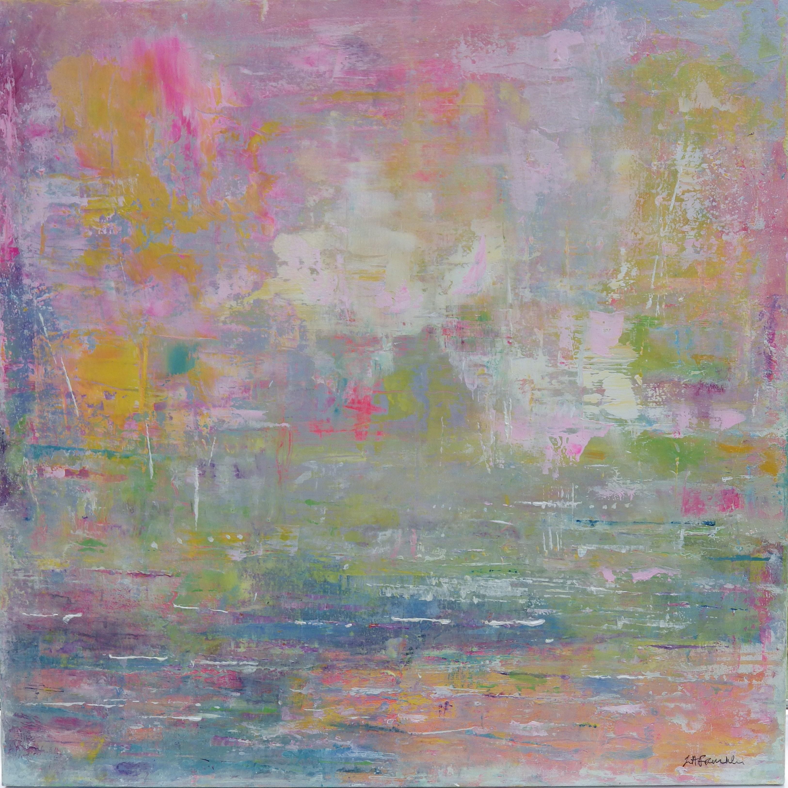 Breathe of Summer 90x90cms acrylic on canvas