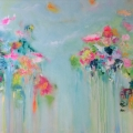 They came Bearing Flowers 96x144cms