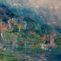 Lago 93x79cms on canvas