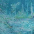 SOLD The Fairie Pond Acrylic on canvas 90x90cms.JPG